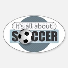 All About Soccer Decal