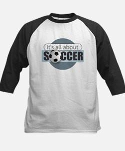 All About Soccer Baseball Jersey