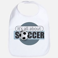 All About Soccer Bib
