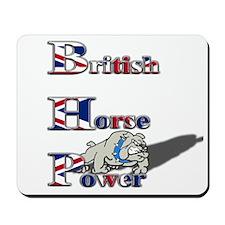 British Horse Power Mousepad