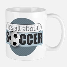 All About Soccer Mugs