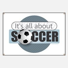 All About Soccer Banner