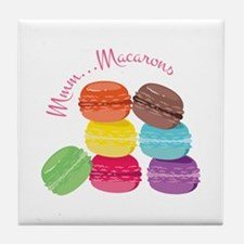 Mmm...Macarons Tile Coaster