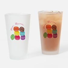 Mmm...Macarons Drinking Glass