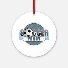 Soccer Mom Round Ornament