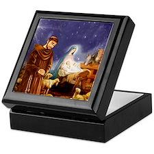 St. Francis Christmas #1 Keepsake Box
