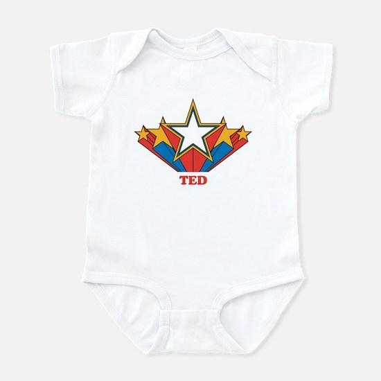 TED superstar Infant Bodysuit