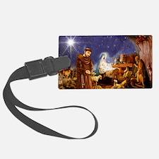 St. Francis Christmas #1 Luggage Tag