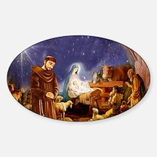 St. Francis Christmas #1 Decal
