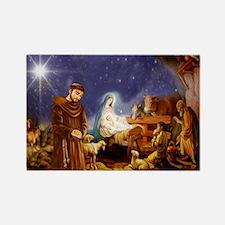 St. Francis Christmas #1 Magnets