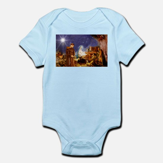 St. Francis Christmas #1 Body Suit