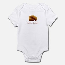 mmm... Baklava Infant Bodysuit