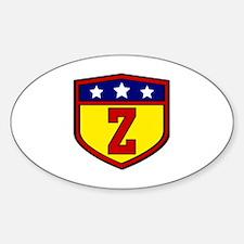 Unique Z Sticker (Oval)