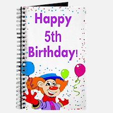 5th birthday Journal