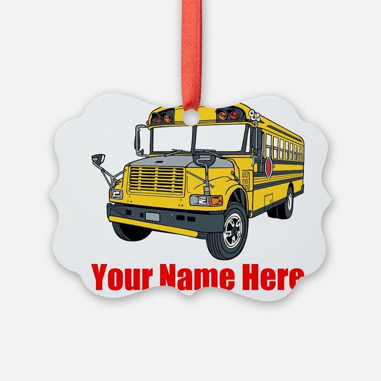 School Bus Ornament