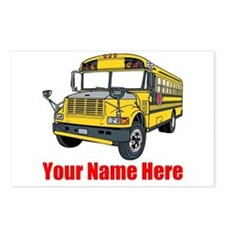 School Bus Postcards (Package of 8)