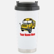 School Bus Travel Mug