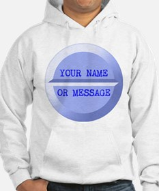 Personalized Pill Blue Hoodie