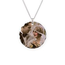 Cute Lacie Necklace Circle Charm