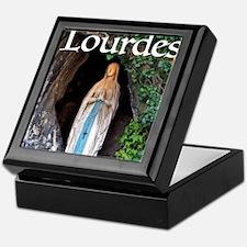 Virgin Mary Lourdes 1 Keepsake Box
