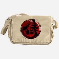 Samurai Kanji Messenger Bag