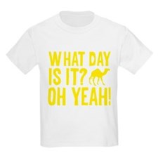 Hump day camel sign T-Shirt