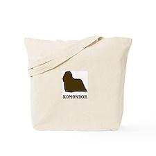 Komondor (brown) Tote Bag