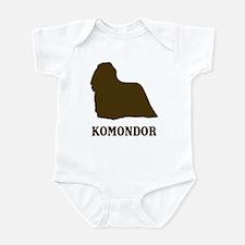 Komondor (brown) Infant Bodysuit