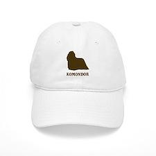 Komondor (brown) Baseball Cap