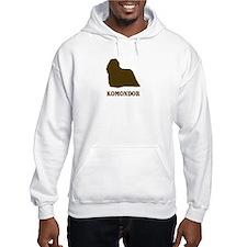 Komondor (brown) Hoodie