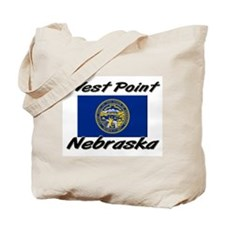 West Point Nebraska Tote Bag