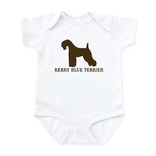 Kerry Blue Terrier (brown) Infant Bodysuit