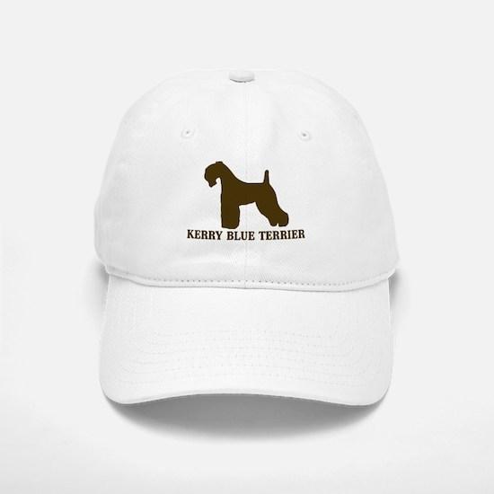 Kerry Blue Terrier (brown) Cap