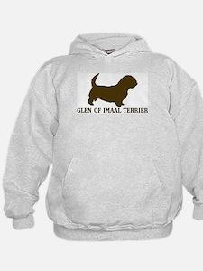 Glen Of Imaal Terrier (brown) Hoodie