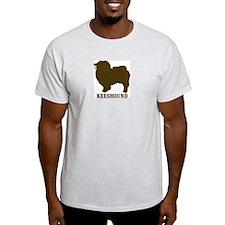Keeshound (brown) T-Shirt