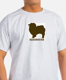 Keeshound (brown) T-Shirt