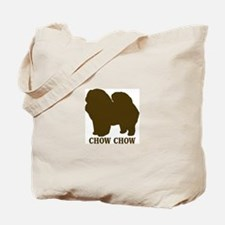 Chow Chow (brown) Tote Bag
