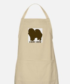 Chow Chow (brown) BBQ Apron