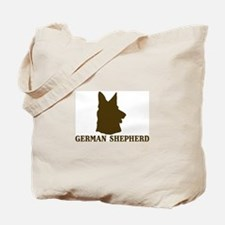 German Shepherd (brown) Tote Bag