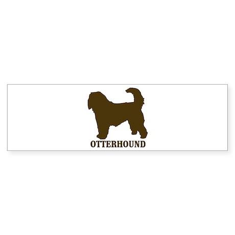 Otterhound (brown) Bumper Sticker