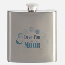 Love You To Moon Flask
