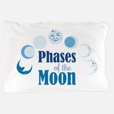 Phases Of Moon Pillow Case