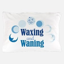 Waxing And Waning Pillow Case