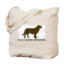 Flat Coated Retriever (brown) Tote Bag