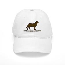 Flat Coated Retriever (brown) Baseball Cap