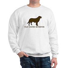 Flat Coated Retriever (brown) Sweatshirt