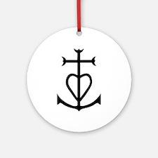 camargue Round Ornament