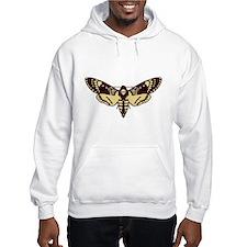 skull butterfly Hoodie