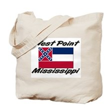 West Point Mississippi Tote Bag
