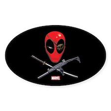 Deadpool Jolly Roger Decal